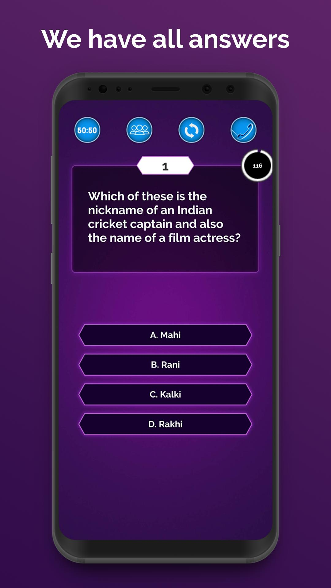 IQ Quiz in Hindi & English - KBC for Genius 2019 for Android