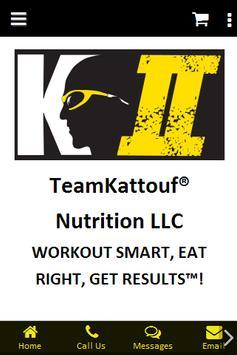 TeamKattouf® Nutrition LLC poster