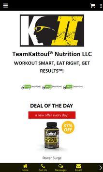 TeamKattouf® Nutrition LLC screenshot 1
