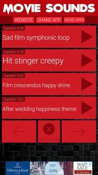 Movie Sounds screenshot 3