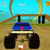 Monster Truck Wyścigi Bohater ikona
