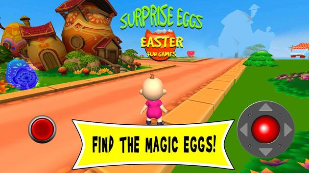 Surprise Eggs Easter Fun Games poster