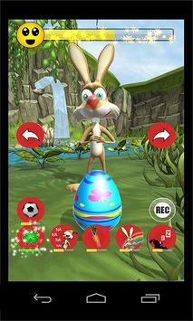 Talking Bunny - Easter Bunny poster