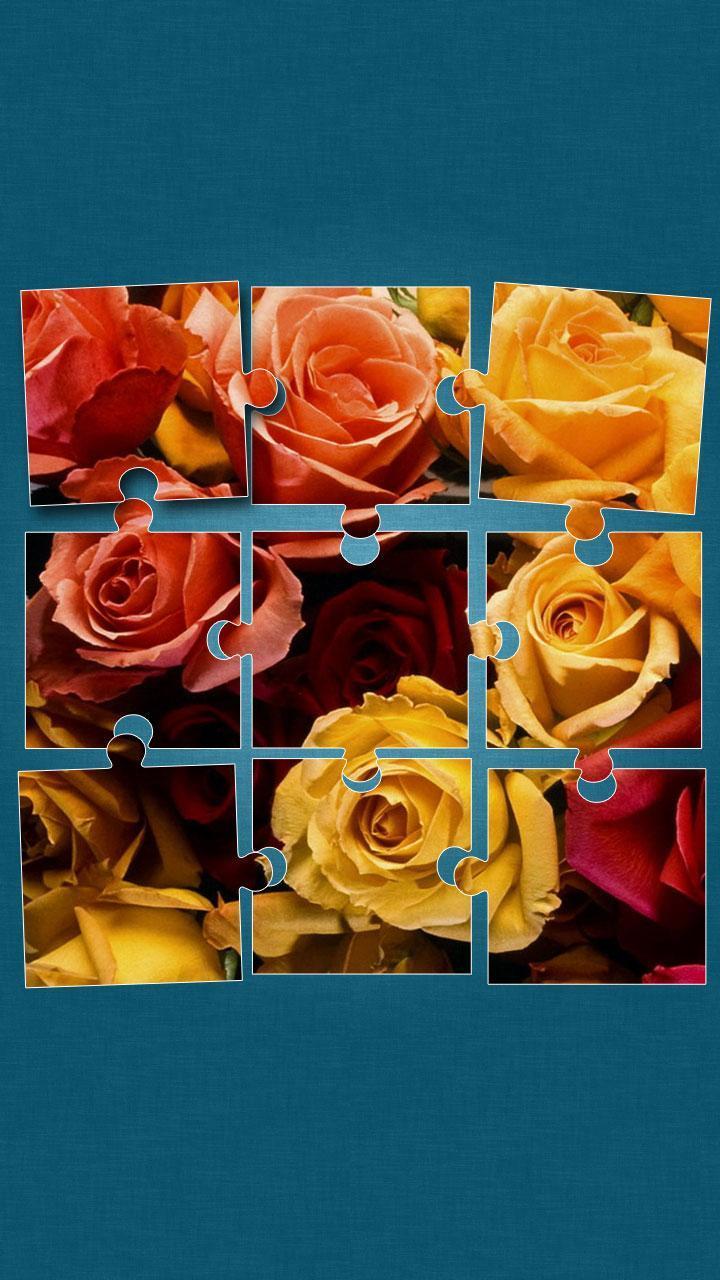 Картинка пазл роза