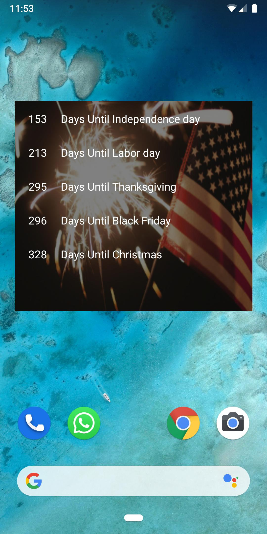 Holidays Countdown For Android Apk Download