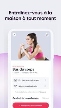 SWEAT : Application de fitness pour femmes capture d'écran 3