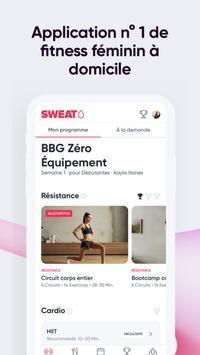 SWEAT : Application de fitness pour femmes capture d'écran 1