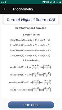 Learn Trigonometry Formulas screenshot 3