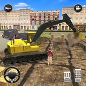 City Build Construction 3D - Excavator Simulator ícone