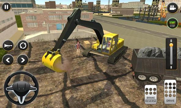 City Build Construction 3D - Excavator Simulator imagem de tela 1