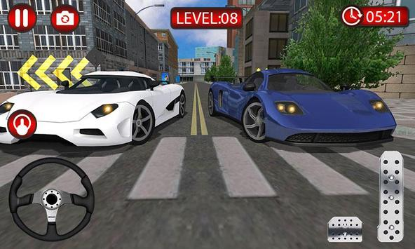 Sports Car Driving Sim 2019 - Driver Simulator poster