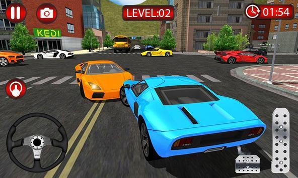 Sports Car Driving Sim 2019 - Driver Simulator screenshot 2