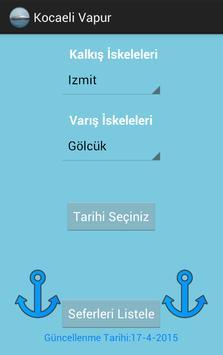Kocaeli Vapur ve Gezi screenshot 1
