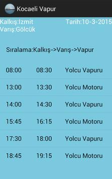 Kocaeli Vapur ve Gezi screenshot 2