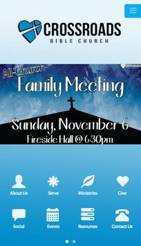 Crossroads Bible Church SJ poster