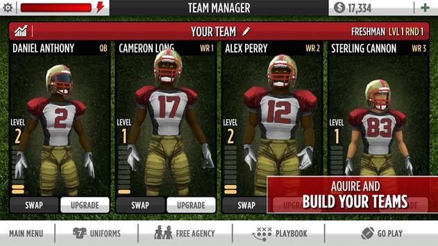 Kaepernick Football captura de pantalla 13
