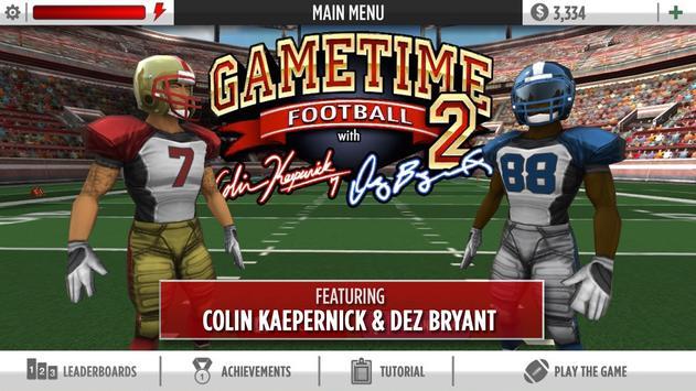 Kaepernick Football captura de pantalla 5