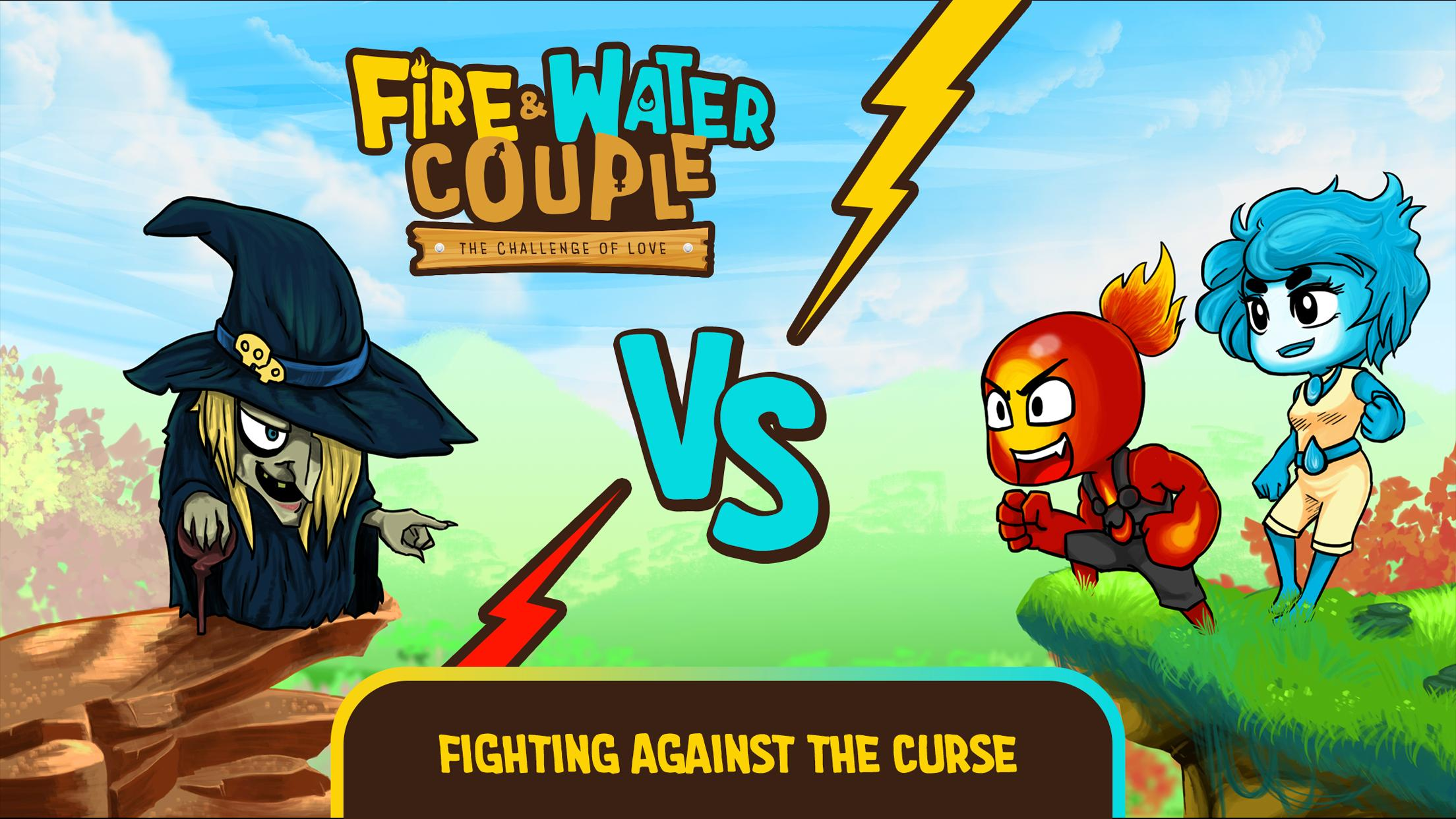Fire and Water Couple for Android - APK Download