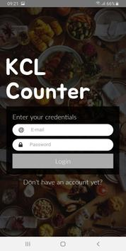 KCL Counter poster