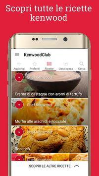 Ricette Kenwood Club für Android - APK herunterladen