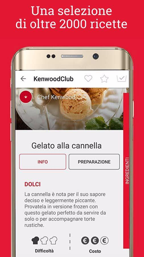 Ricette Kenwood Club for Android - APK Download