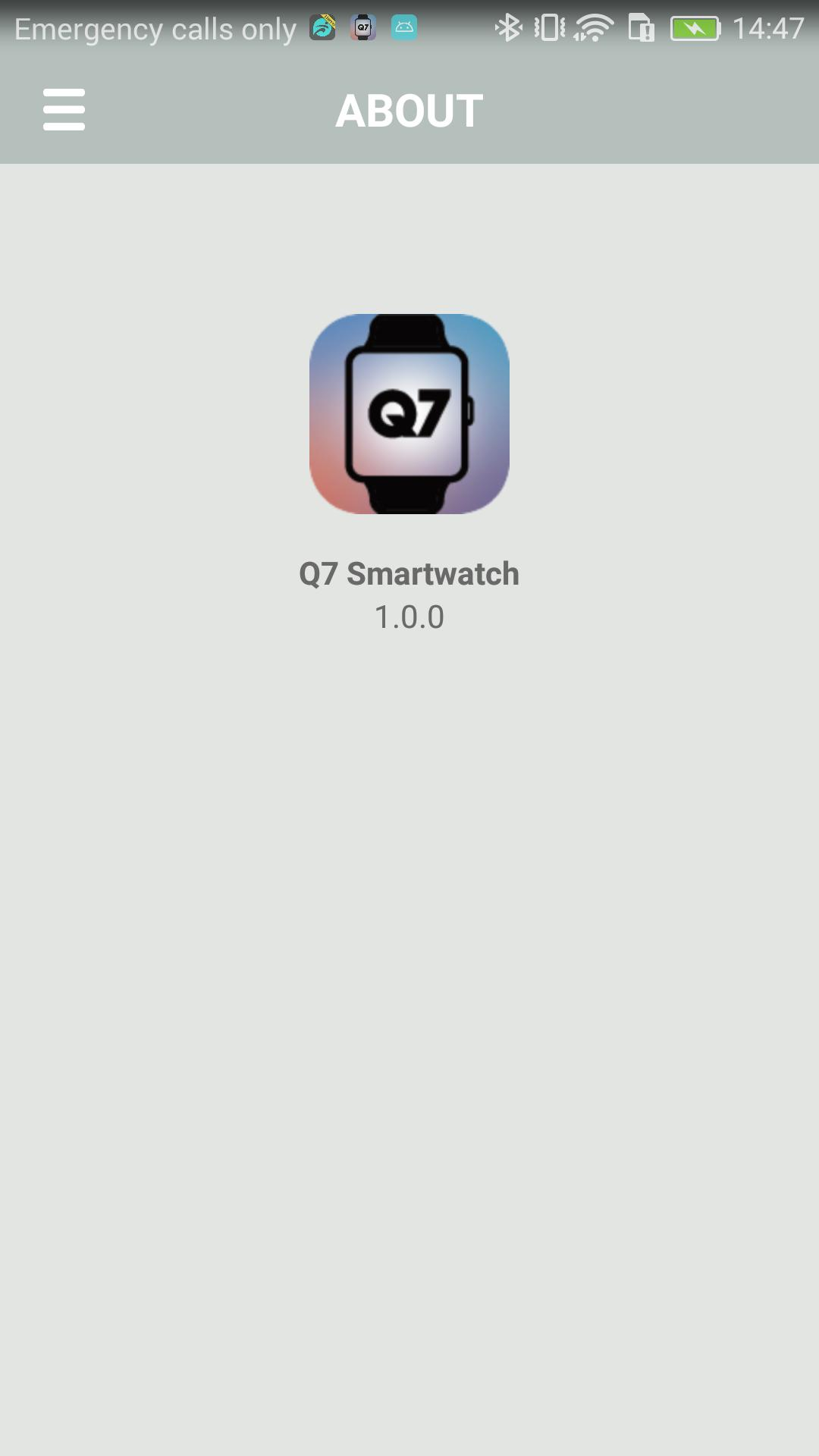 Q7 SmartWatch for Android - APK Download