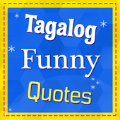 Tagalog Funny Quotes icon