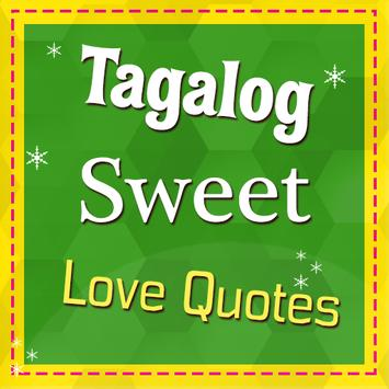 Tagalog Sweet Love Quotes poster
