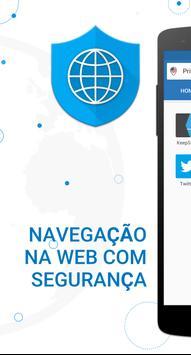Private Browser Cartaz