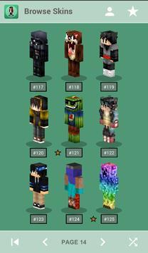 Skins for Minecraft PE ポスター