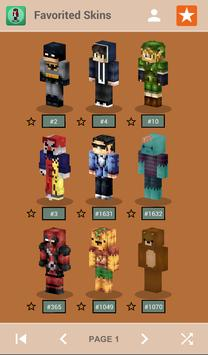 Skins for Minecraft PE screenshot 1