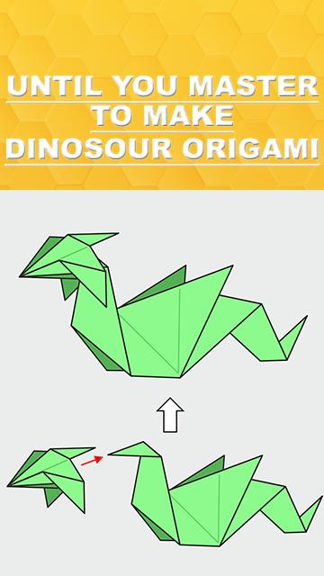 wikiHow, Rawr - Origami Dinosaur! And 2 More Ways to Make ... | 640x360