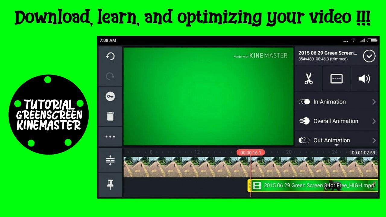 download free software for green screen video