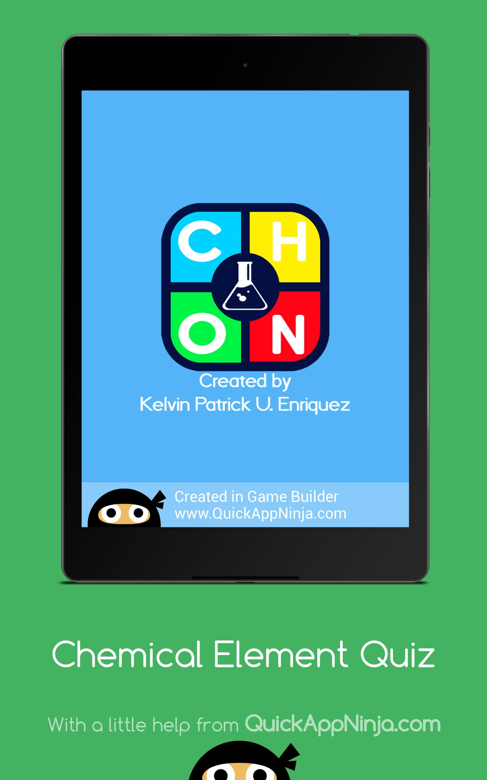 Chemical Element Periodic Table Quiz For Android Apk Download