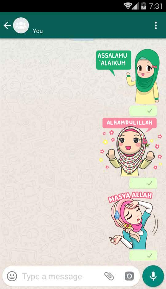 Hijab Sticker Whatsapp For Android Apk Download