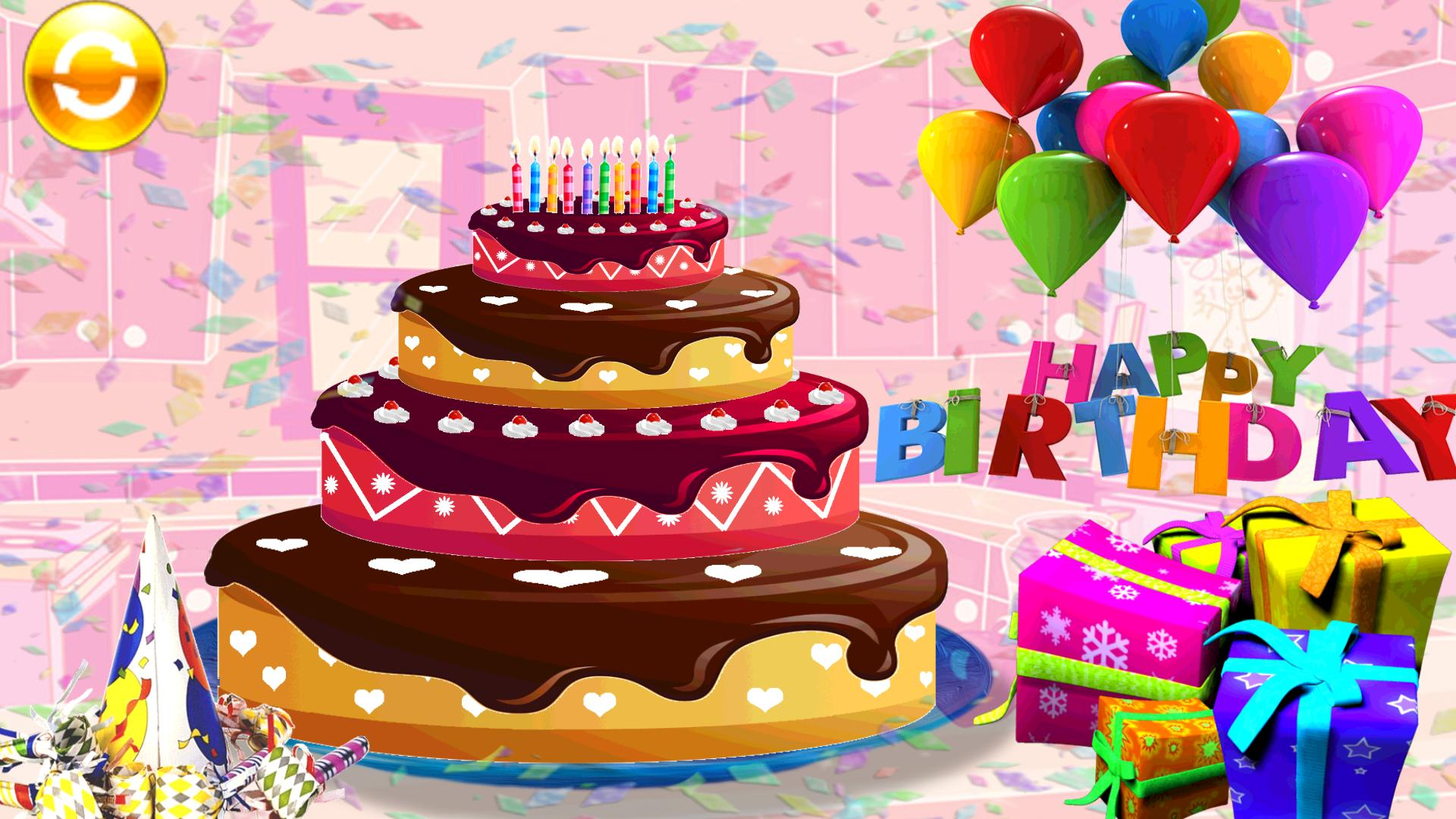 Make Happy Birthday Cake Girls Games For Android Apk Download