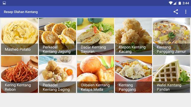 Resep Olahan Kentang screenshot 7