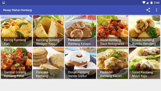 Resep Olahan Kentang screenshot 9
