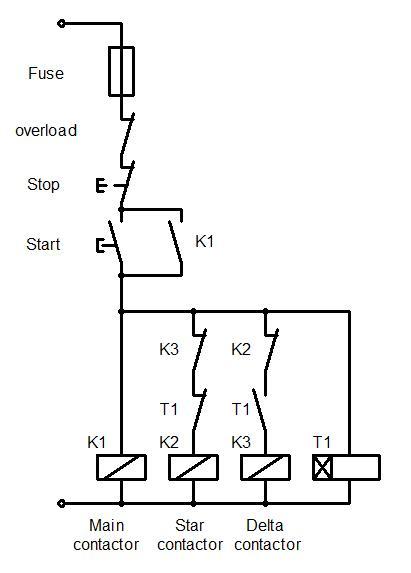 Contactor Overload Wiring Diagram