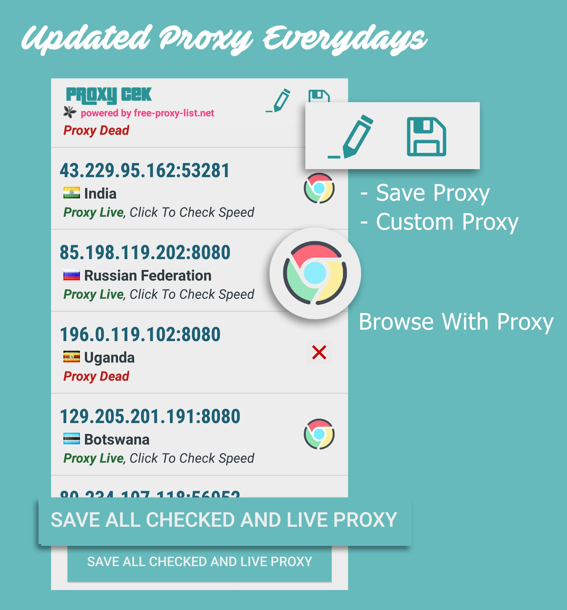 Proxy Cek for Android - APK Download
