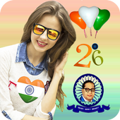 Republic Day Photo Editor 2019 icon