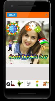 Republic Day Photo Editor 2019 screenshot 1