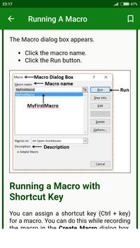 Learn Offline Excel Macros | Learn Excel Macros for Android - APK