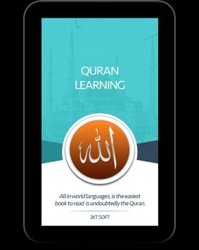 Quran Learning screenshot 16