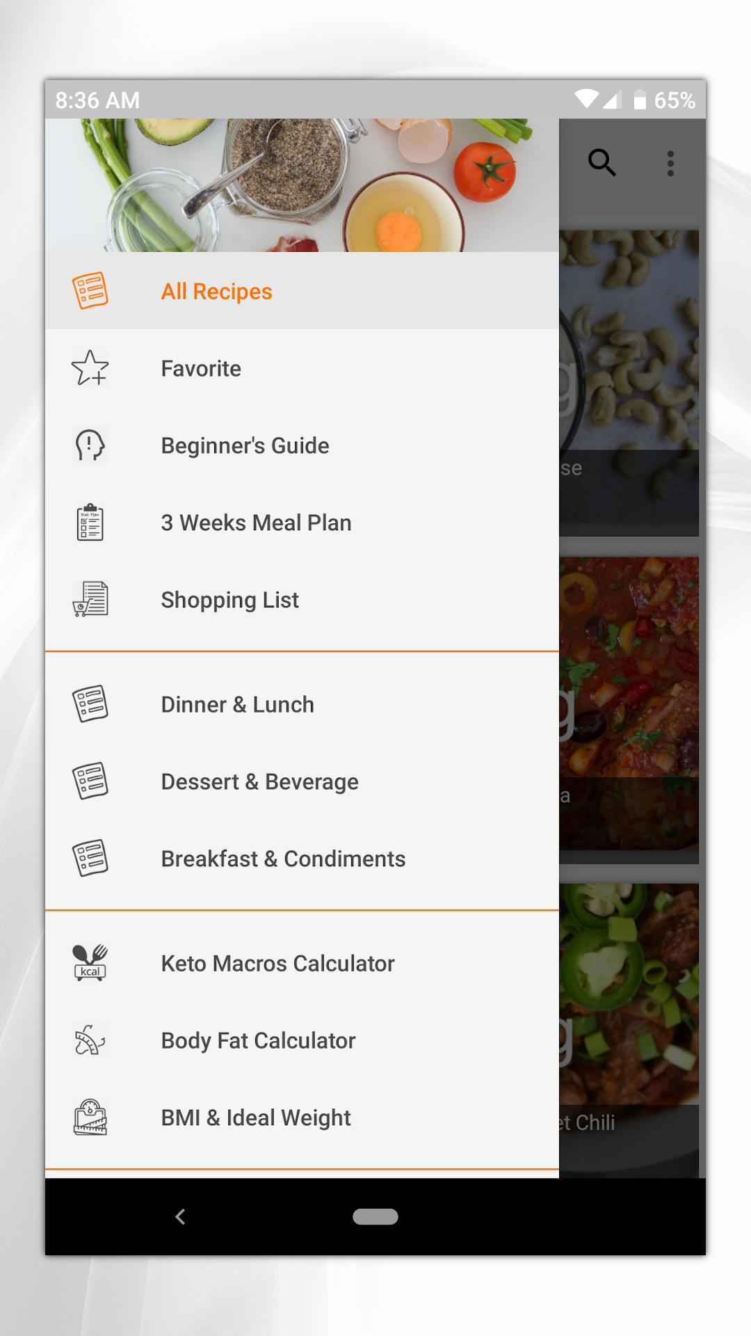 Keto Diet Recipes Pro Keto Macros Calculator For Android Apk Download