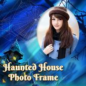Haunted House Photo Frame icon