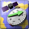 ikon AR GPS Compass Map 3D