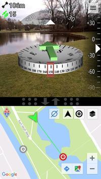 AR GPS Compass Map 3D Pro captura de pantalla 4