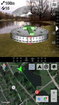 AR GPS Compass Map 3D Pro Poster
