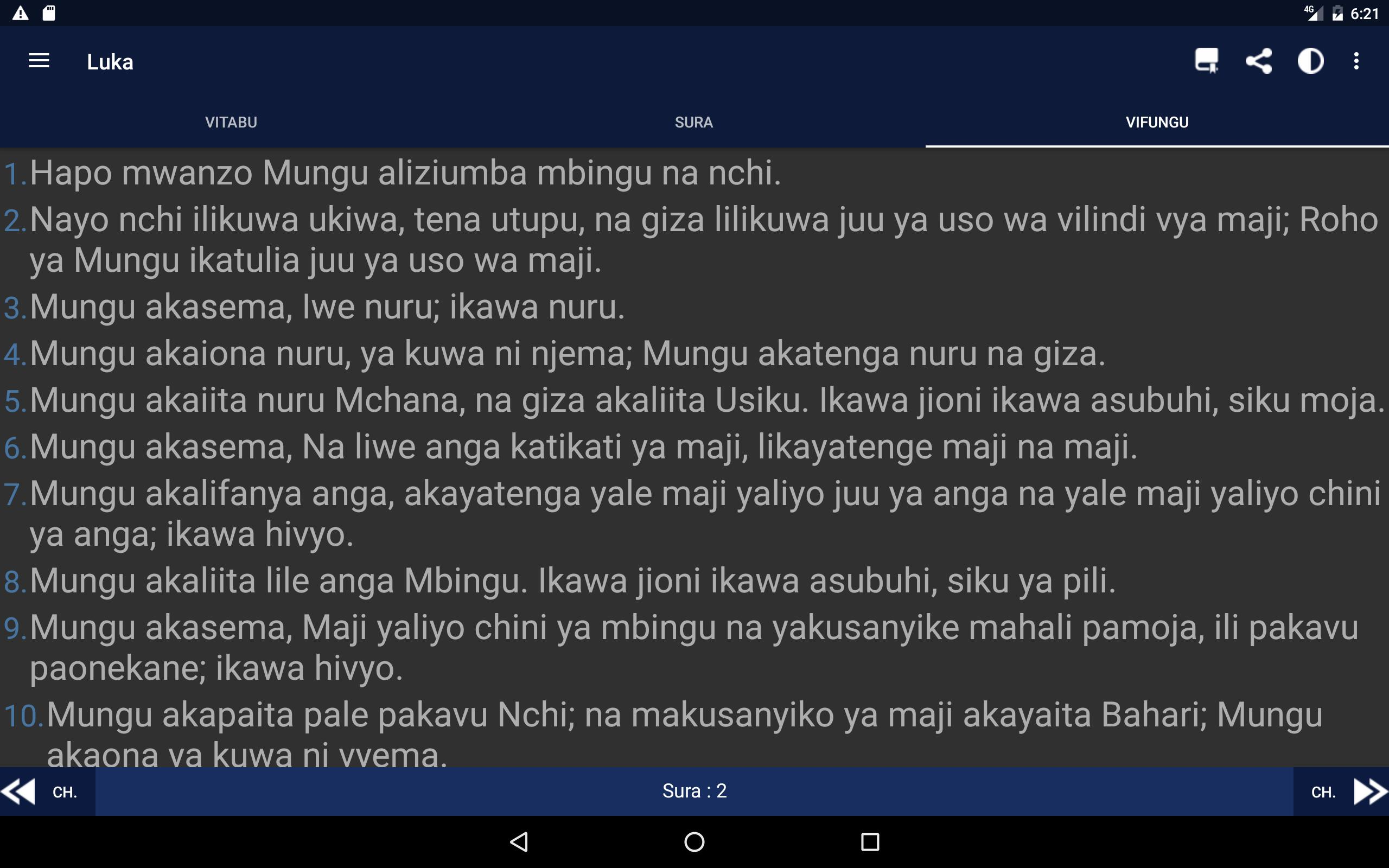 Biblia Takatifu Swahili Bible For Android Apk Download
